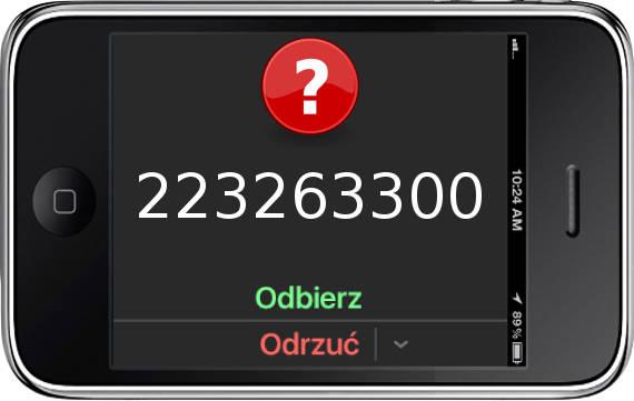 Telefon 223263300