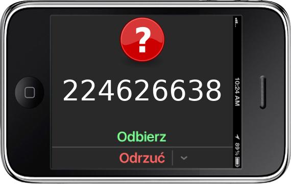 Telefon 224626638
