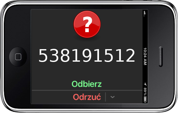 Telefon 538191512