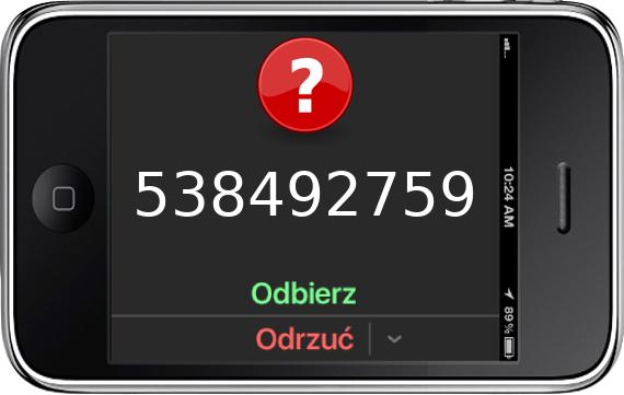 Telefon 538492759