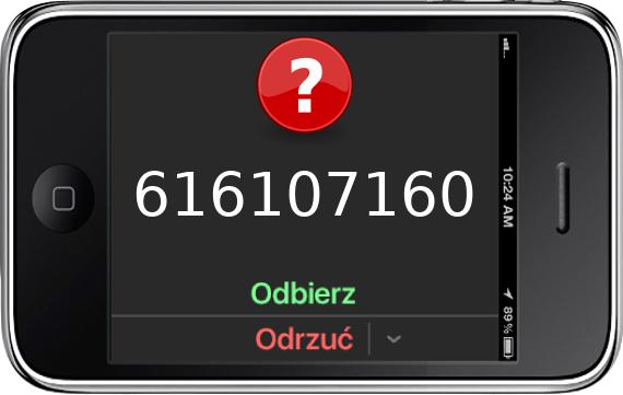 Telefon 616107160