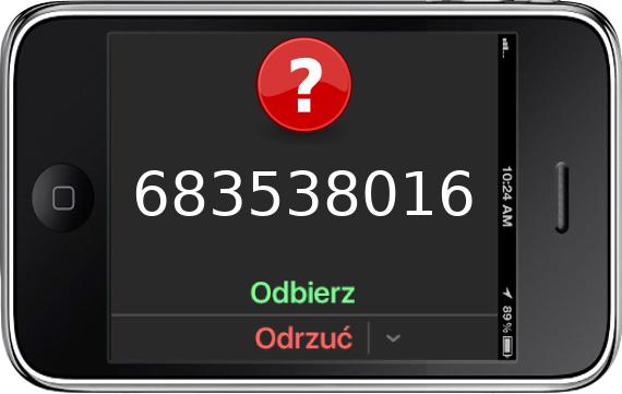 Telefon 683538016