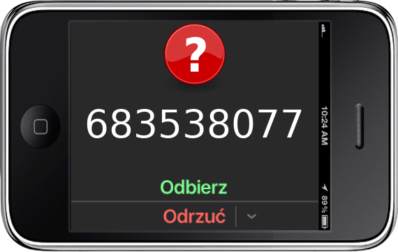 Telefon 683538077