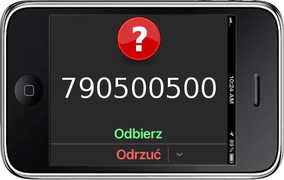 Telefon 790500500